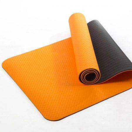 """מזרון יוגה בעובי 6 מ""""מ מסוג TPE האיכותי ביותר בשלל צבעים"""
